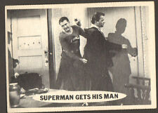 SUPERMAN original 1950'S tv series # 51 trading card GEORGE REEVES