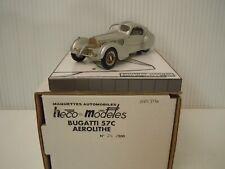"1/43  HECO-MODELES Bugatti Type 57 C ""Aerolithe""  Ch. #57331"