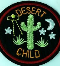 UFO Roswell alien abduction Desert Child embroidered quality iron on patch