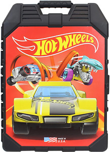 Hot Wheels 48- Car Storage Case With Easy Grip Carrying Case Die-Cast Vehicles