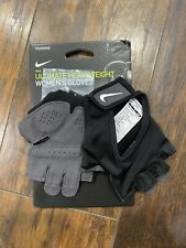 Nike Womens Gym Ultimate Fitness Gloves Sz Small