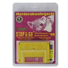 STOP & GO Marderabwehr Ultraschall-Gerät mit Batterie TYP 4B Marderschutz 07533