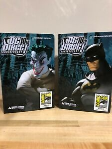 DC Direct 10th Anniversary BATMAN AND THE JOKER SDCC Convention Exclusives