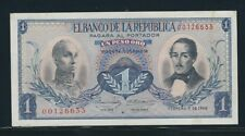 COLOMBIA BANKNOTES  $1 1968 REPOSITION