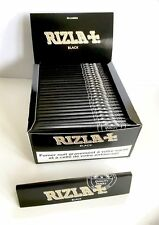 50 BOOKLETS RIZLA BLACK KING SIZE Cigarette Papers (SKY ONLINE)