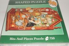Ruane Manning Bits and Pieces Shaped Puzzle 750 pcs SEALED Clocks Time Keeper