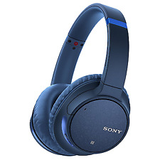 Sony Whch700nl Wireless Bluetooth Noise Cancelling Headphones - Blue