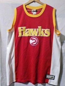 Atlanta Hawks 1991-92 Road Sewn Jersey Size Mens 2XL Majestic Hardwood Classics