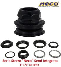035 Serie Sterzo NECO Semi-Integrata a Filetto 1-1/8 per bici 26-28 Single Speed