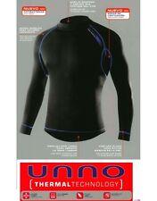 3 Camisetas termal Unno para hombre, Art. 6708 UNNO THERMAL