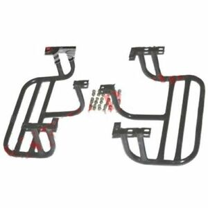 New Pair Complete Left Right Side Footrest 2 Units Willys CJ Commander Jeeps S2u