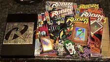 dc comics. box set of. robin II. the joker wild. holgram & variant covers