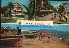 POSTAL DE BADALONA . RAMBLA DEL CAUDILLO Y PLAYA . BARCELONA . VER TIENDA CC1833