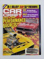 Car Craft Magazine August 1991 Street & Strip Performance Secrets IHRA 700-Cid