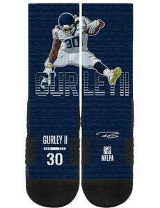 NEW Strideline NFL Todd Gurley Los Angeles Rams Leap Navy Socks