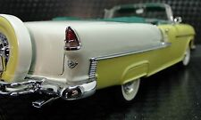 1955 Chevy Bel Aire Chevrolet 1 24 deportivo VINTAGE 12 Carousel Amarillo Metal