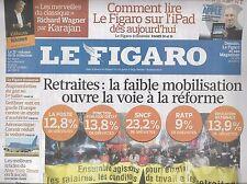 LE FIGARO N°20472 28 MAI 2010  RETRAITES/ VAGUE NORDIQUE/ iPAD/ EURO 2016