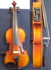 "Solid wood Guarneri style brown colors electric & acoustic 6 strings viola 15"""