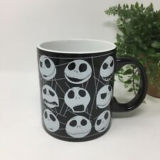 Tim Burton Nightmare Before Christmas Glow In The Dark Ceramic Mug Cup 20 Oz