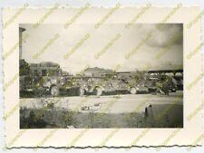 Foto, KFZ, PKW, LKW auf dem Parklatz der Zementfabrik Oppeln, Polen (N)19866