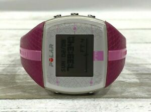 Polar FT4 Heart Rate Monitor Digital Watch White Pink 38 mm
