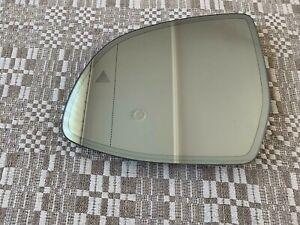OEM BMW X3 G01 X4 G02 X5 G05 X7 G07 Auto DIM HEATED MIRROR LEFT GLASS BLIND SPOT