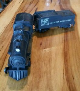 American Flyer Lines Burlington21166 Steam Locomotive&Tender·Serviced·Runs Great