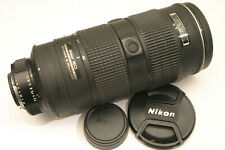 Nikon 80-200mm F/2.8D IF ED AF-S Lens. Manual focus only