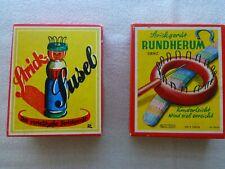Kinder Lernspielzeug  alt * Strick Susel & Strickgerät Rundherum * 2 Teile