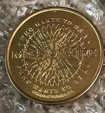 Disney DLR - 2002 Cast Who Wants To Be A Millionaire Gold Colored Coin IMC