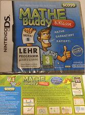 Mathe Buddy 6. Klasse DS NDS DS Lite Spiel Mathe Trainer Lernspiele Minispiele N