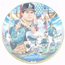 JOSE CANSECO OAKLAND A'S GOLD EDITION SPORTS IMPRESSIONS LIMITED EDITION PLATE