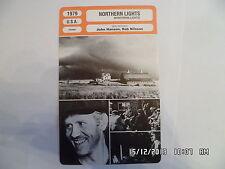 CARTE FICHE CINEMA 1979 NOTHERN LIGHTS Robert Behling Susan Lynch