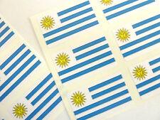Mini Sticker Pack, Self-Adhesive Uruguay Flag Labels, FR262