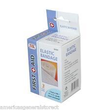 """ELASTIC first aid BANDAGE support 3"""" x 3.5 yd wrap arm leg soft flexible ace"""