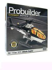 Mega Bloks PROBUILDER 3275 ~ Carbon series Attack Copter 25cm Helikopter Bausatz
