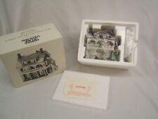 "Dept 56 New England Village ""Captain's Cottage"" #5947-1 Ltd Bldg Orig Box"