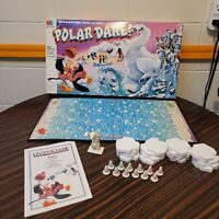 1991 Polar Dare by Milton Bradley Complete! VGC VTG Board Game Penguins