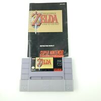 The Legend Of Zelda A link To The Past Super Nintendo SNES Fast Ship! Authentic!