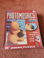 Disney 1000 Piece Photomosaics Jigsaw Puzzle 'Winnie The Pooh' complete