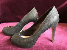 Carvela Black Peep Toe Heels Size 5