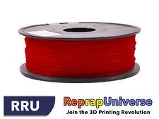 Flexible (TPE) Filament - 3 mm - Red - 0.8 KG - 3D Printer Drucker