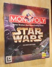STAR WARS ~ MONOPOLY ~ CD-ROM EDITION / PC VIDEO GAME ~ NEW/SEALED 1997 ~ HASBRO