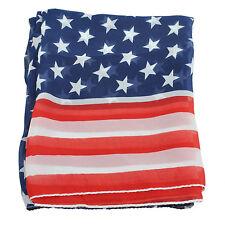 Women Girl Scarves American Flag US Flag Patriotic Theme Scarves DT
