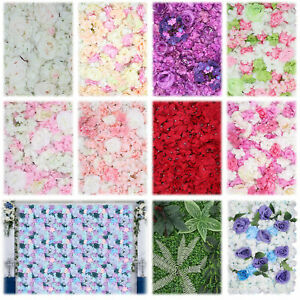Artificial Fake Flower Hydrangea Wall Panel for Banquet Wedding Party Home Decor