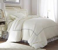 Premium Tencel/Cotton Venezia 3pc Duvet Cover Set-Queen/King/CalKing,3 Colors