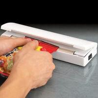 Portable Mini Food Heat Sealing Machine Impulse Plastic Packing Bag Sealer Tool