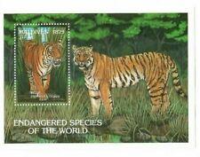 Maldives - 1993 Endangered Species Tiger Souvenir sheet - MNH