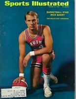 1970 8/24 Sports Illustrated basketball magazine Rick Barry, Virginia Squires GD
