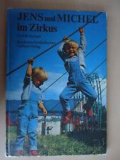 Jens und Michel im Zirkus  altes Fotobilderbuch Ib Hansen Reinbeker Kinderbücher